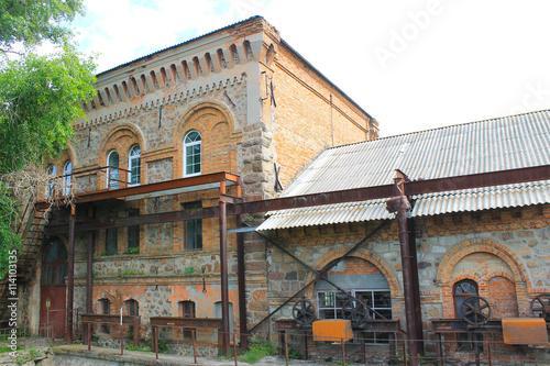 Old water mill in Migeya village, Ukraine