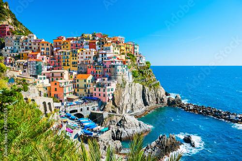 Obraz na plátně Cinque Terre national park, Italy