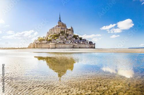 Obraz na plátně Mont Saint-Michel, Normandy, France