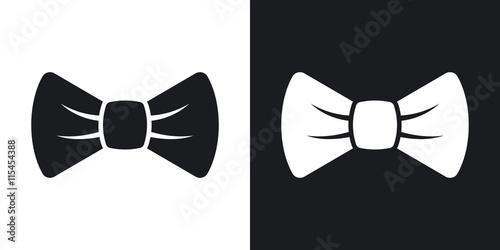 Obraz na płótnie Vector bow tie icon