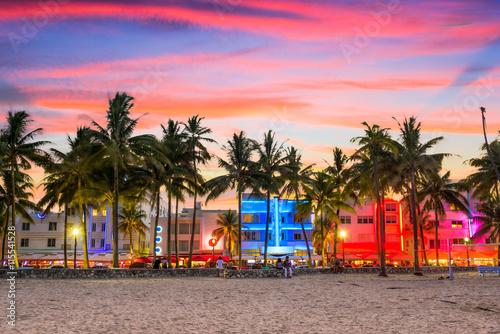 Fototapeta premium Miami Beach na Florydzie