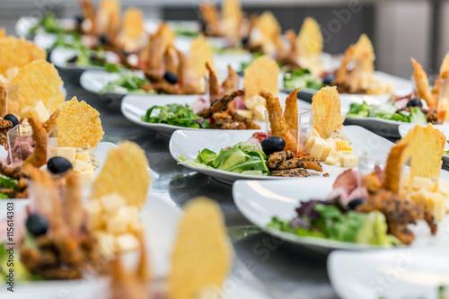 Luxus-Essen Fototapete