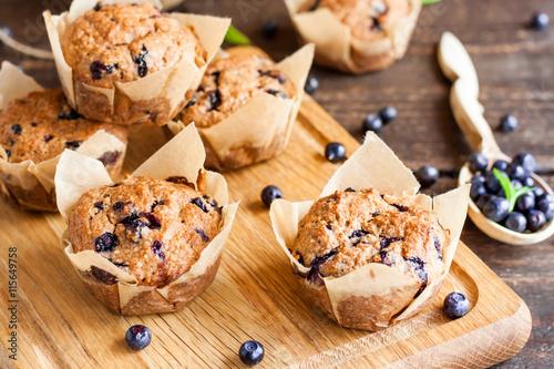 Fotografia Blueberry muffins