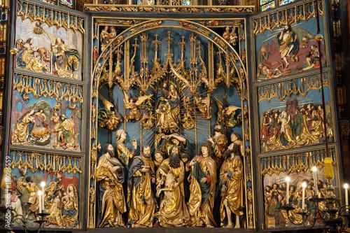 St Mary Altar in Krakow Fototapete