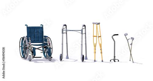 Obraz na płótnie Mobility Aids