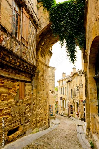 Fotografie, Tablou Beautiful streets of Saint-Emilion