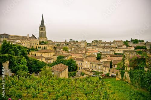 Photo Beautiful town of Saint-Emilion, France