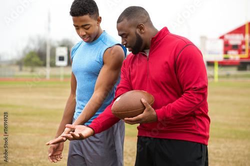 Valokuva Football training.