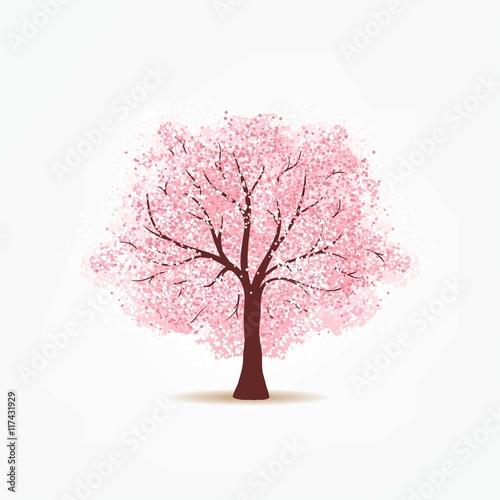 Slika na platnu Cherry tree