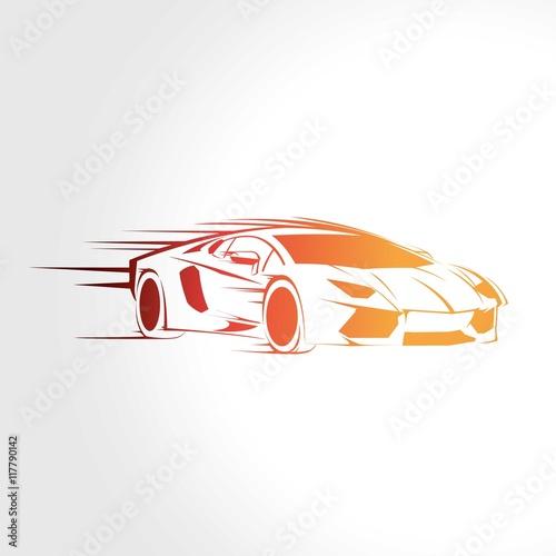фотография Speed sport car