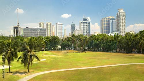 Golf field near Intramuros