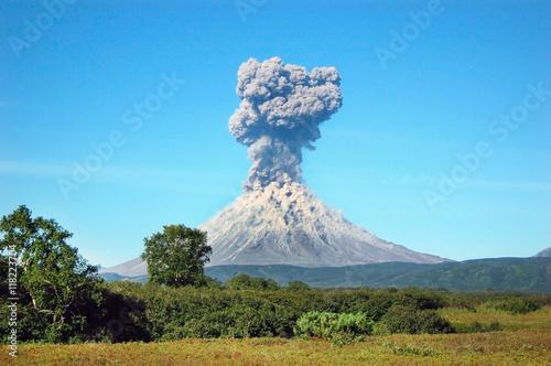 Karimskiy volcano Fototapeta