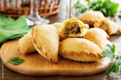 Canvastavla empanadas - Argentine fried meat pies.