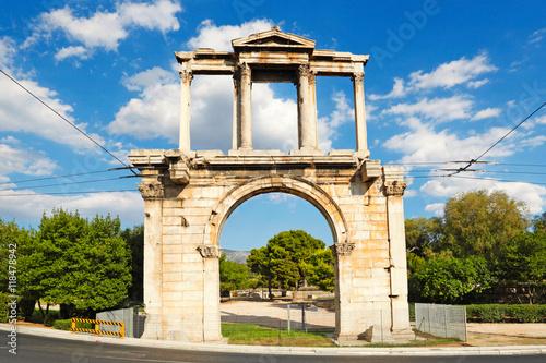 Valokuvatapetti Hadrian's Gate, Greece