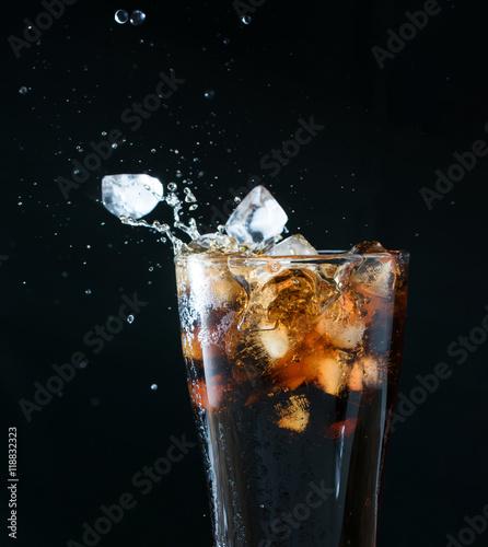 Fotografie, Obraz cola splash