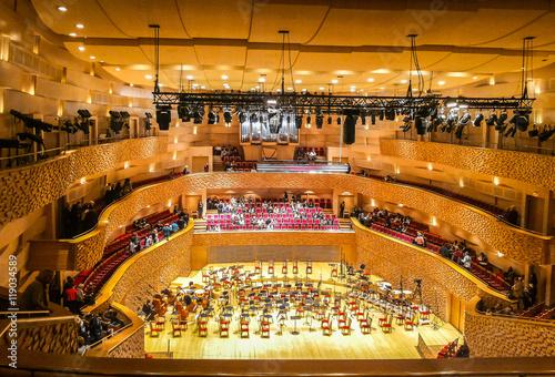 The Concert hall of the Mariinsky theatre, Saint-Petersburg, Russia