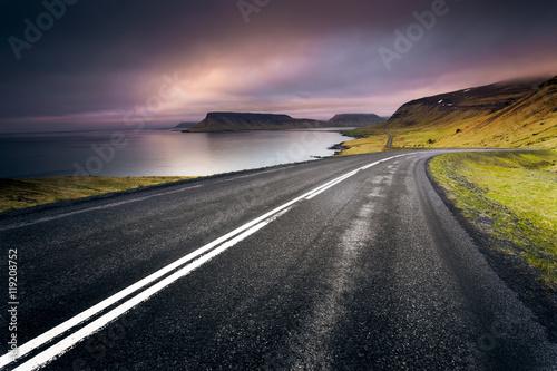 Obraz na płótnie Iceland Road