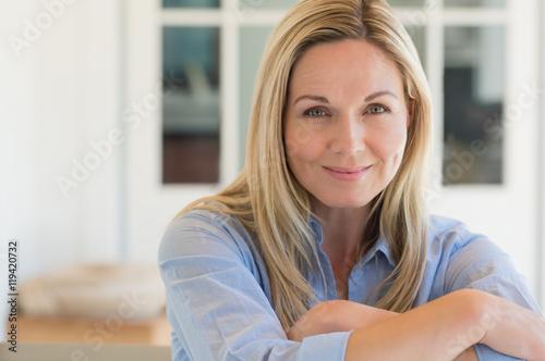 Fotografija Mature woman smiling