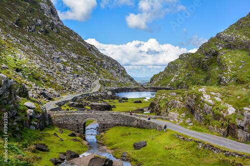 Canvas Print Gap of Dunloe, County Kerry, Ireland