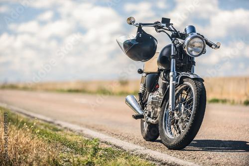 Fototapeta premium Parkowanie motocykli na drodze