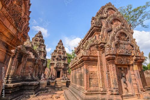 Fototapeta premium Świątynia Banteay Srei, Siem Reap, Kambodża