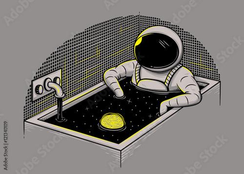 Kosmiczna kąpiel