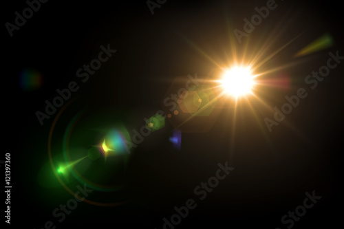 Tablou Canvas Abstract lighting flare