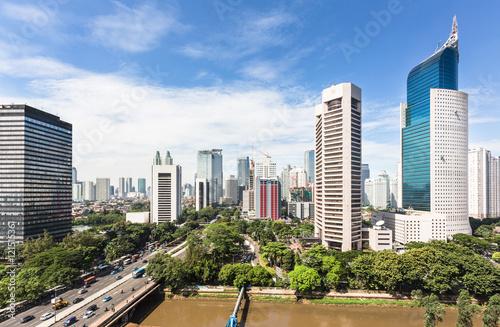 Jakarta business district