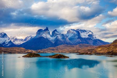 Fotografie, Tablou Torres del Paine Park