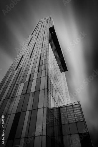 Billede på lærred Manchester Tower Abstract