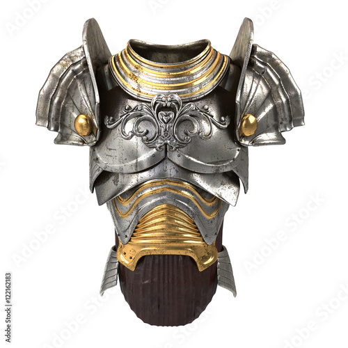 Fotografia, Obraz armor 3d illustration isolated