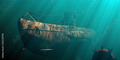 Canvas Print Das Boot