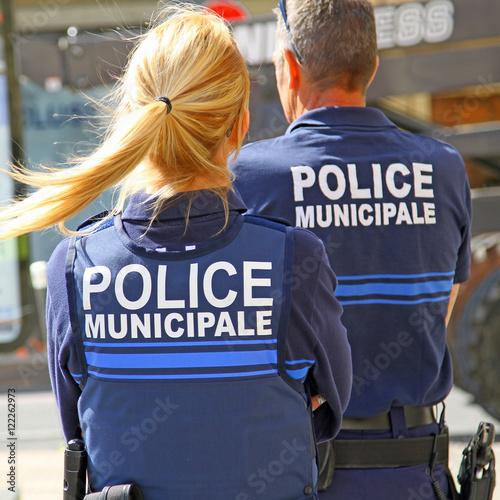 Photo Policière municipale