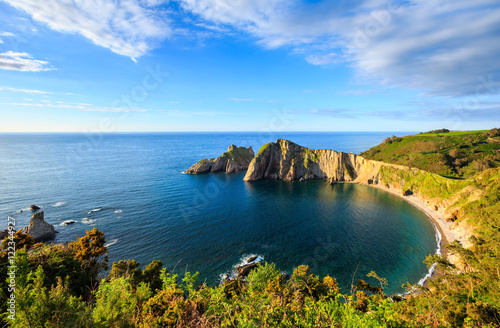 Del Silencio beach (Asturias, Spain).