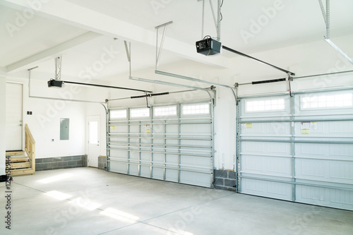 Canvas Print Residential house garage interior