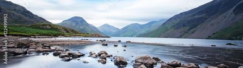 Fotografie, Obraz Dramatic mountain lake - Wasdale, Lake District, Cumbria, UK.