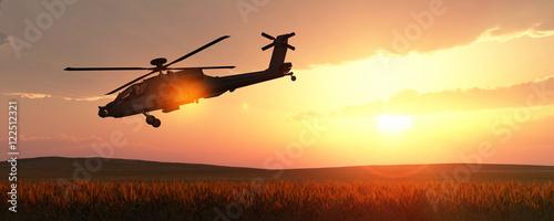 Fotografie, Obraz helicopter war
