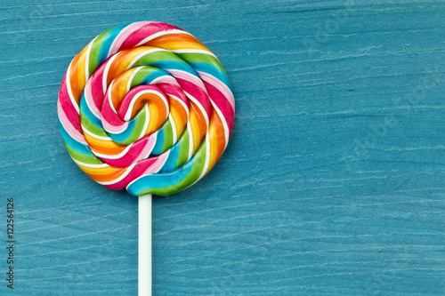 Stampa su Tela Lollipop with many colors