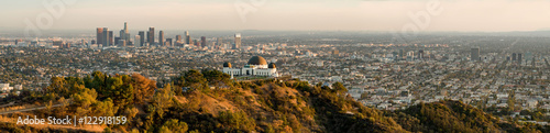 Fényképezés Los Angeles panorama
