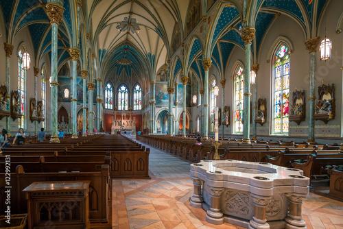 Fotografia St John the Baptist Cathedral in Savannah Georgia