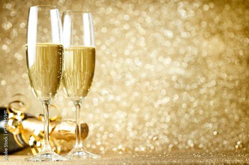 New Years Eve celebration Fototapet