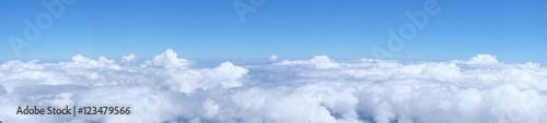Fototapeta premium chmury Panorama, niebo