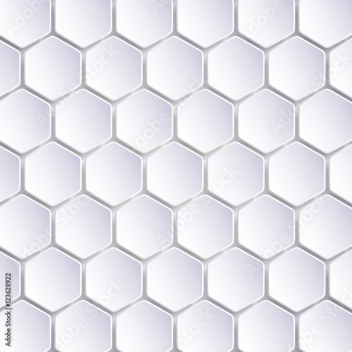 Abstract Hexagon Mosaics Background