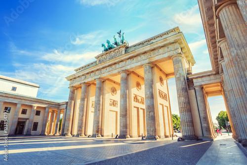 Wallpaper Mural Berlin Brandenburg Gate, Berlin, Germany