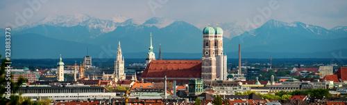 Fototapeta premium Panorama Monachium