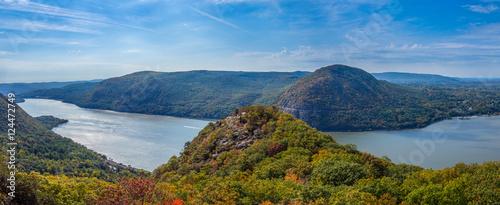 Fotografie, Obraz Panoramic view from Breakneck Ridge