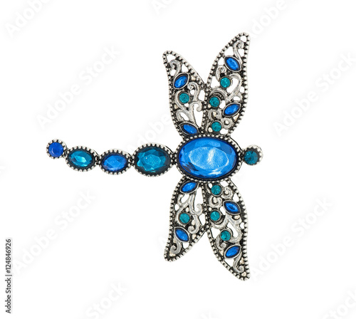 Tableau sur Toile brooch in the form of dragonfly