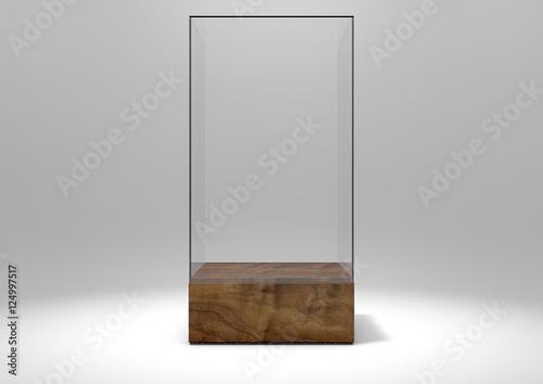 Carta da parati Glass Display Case