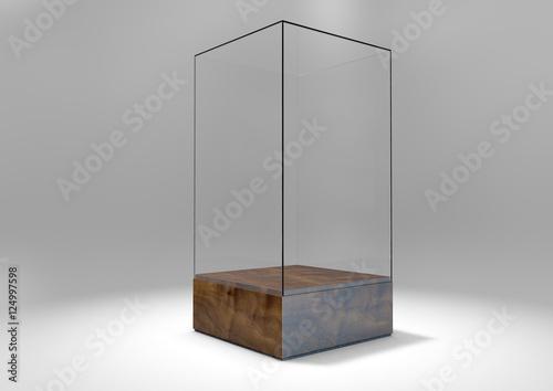 Fotografia Glass Display Case