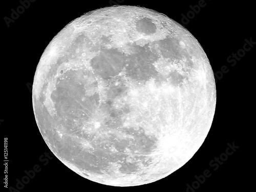 Canvastavla Full Moon